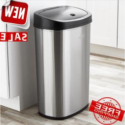GARBAGE CAN DUSTBIN Handsfree Automatic Motion Sensor Lid Tr