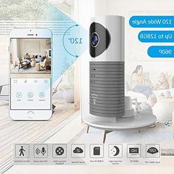 HD Indoor Wide Angle Wireless Security Camera with Motion Se