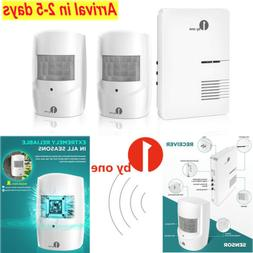 For Home Garage Security Wireless Doorbell Driveway Alarm Mo