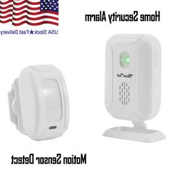 Home Security Driveway Alarm Motion Sensor Detect Wireless D