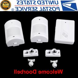 home security wireless driveway alarm doorbell garage