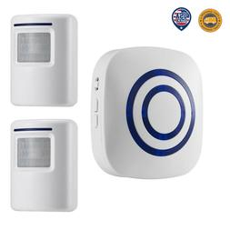 Home Security Wireless Driveway Alarm Doorbell Garage Motion