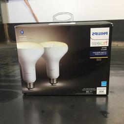 Philips Hue 2-Pack White Ambiance BR30 60W Equivalent LED BT