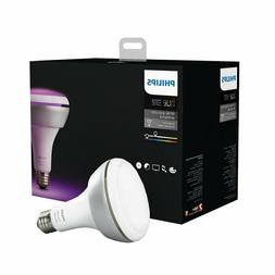 Philips Hue White and Color Ambiance BR30 Smart Light Bulb 4