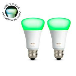 Philips Hue White and Color Ambiance Bulb 3rd Generation A19