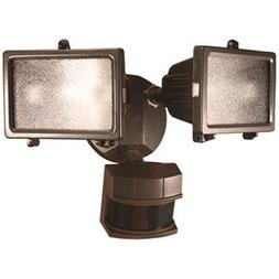 Heath Zenith HZ-5512-BZ Security Light, Bronze