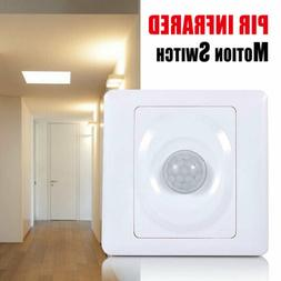 In-Wall Motion Sensor Light Switch PIR Infrared Occupancy Se