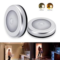 Indoor Wireless LED Motion Sensor Stick On Light Battery Ope