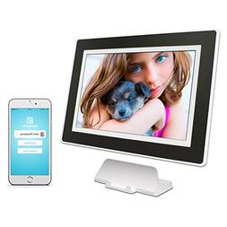 PhotoSpring  10-inch WiFi Cloud Digital Picture Frame - Batt