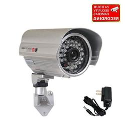 "VideoSecu 700TVL Bullet Security Camera Built-in 1/3"" Effio"