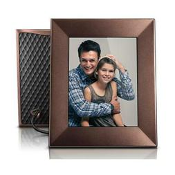 "Nixplay Iris 8"" Wi-Fi Cloud Digital Picture Frame, Burnished"