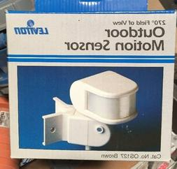 LEVITON Outdoor Motion Sensor 270 Field Of View OS127