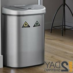 Kitchen Trash Can With Automatic Lid Motion Sensor Infrared