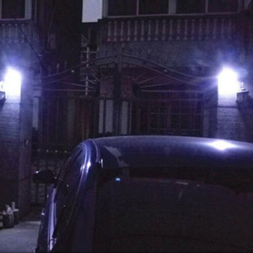 100 Lights Light Motion Security Garden Lamp US