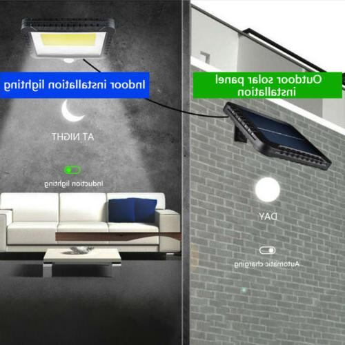 100 Solar Lights Security Flood US