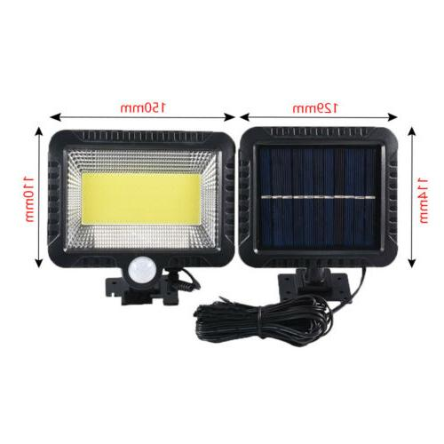100 LED Solar Lights Security Flood Lamp US