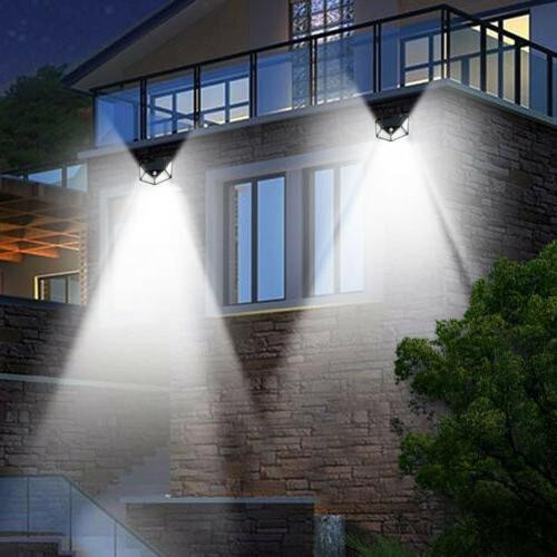 2 Lights Wireless Sensor Garden Lamp