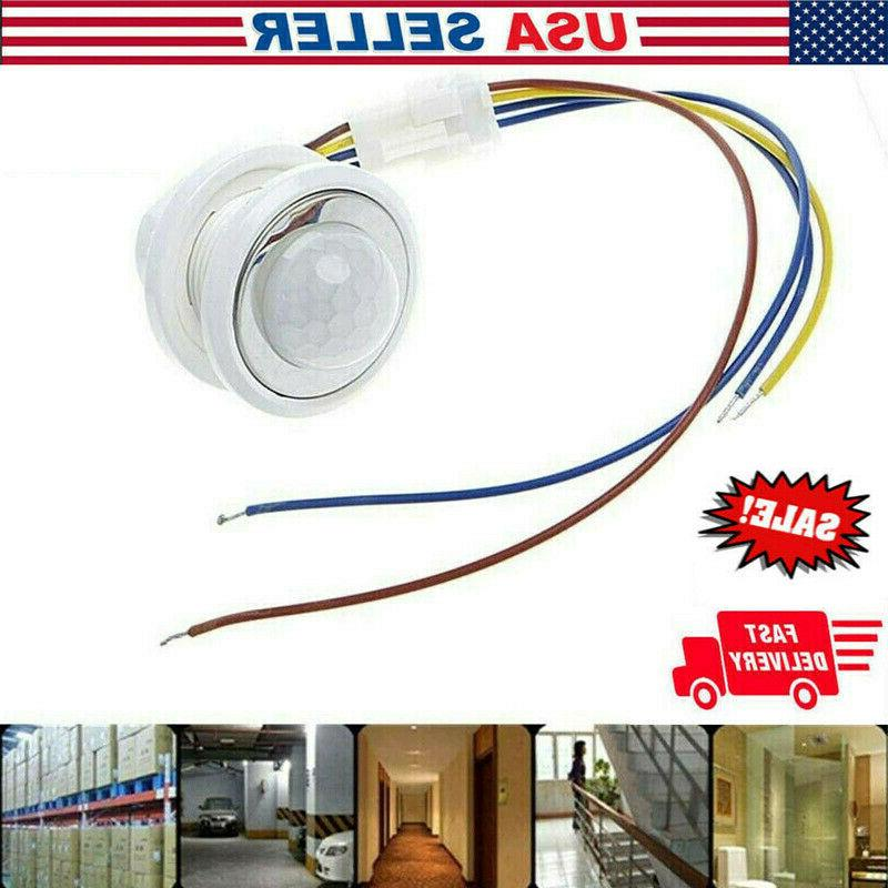 110 240v ceiling pir infrared body motion