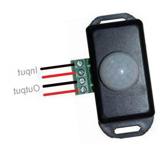 12VDC AMP Infrared Control Switch Lights