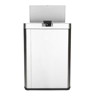 Electric Trash Can Touchless Garbage Automatic Wastebasket C
