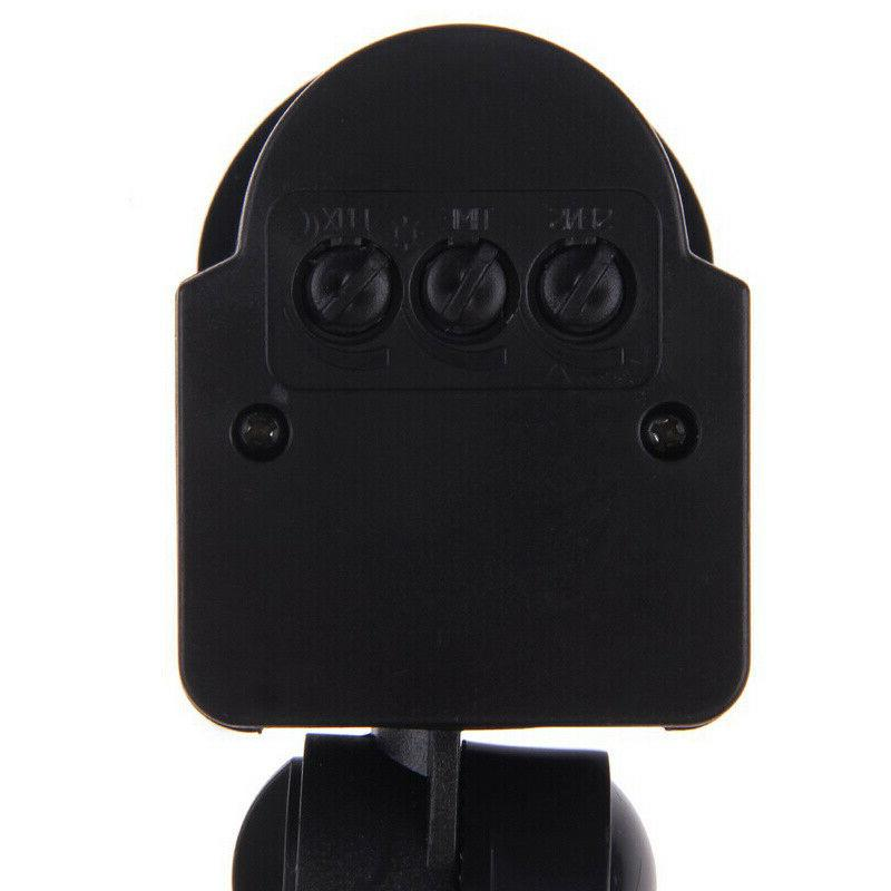 180° Outdoor PIR Infrared Motion Detector Switch Wall