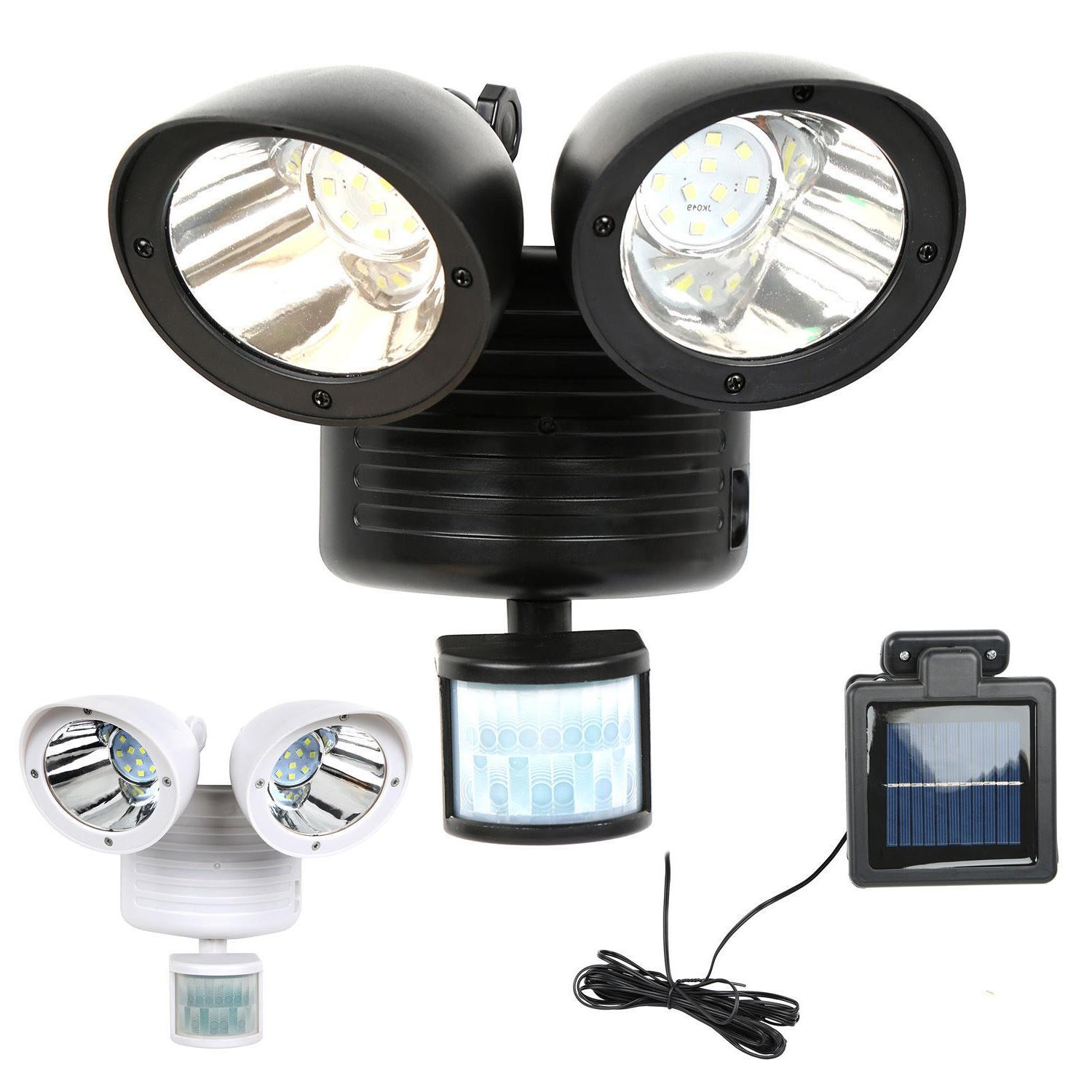 22 led dual security detector solar spot