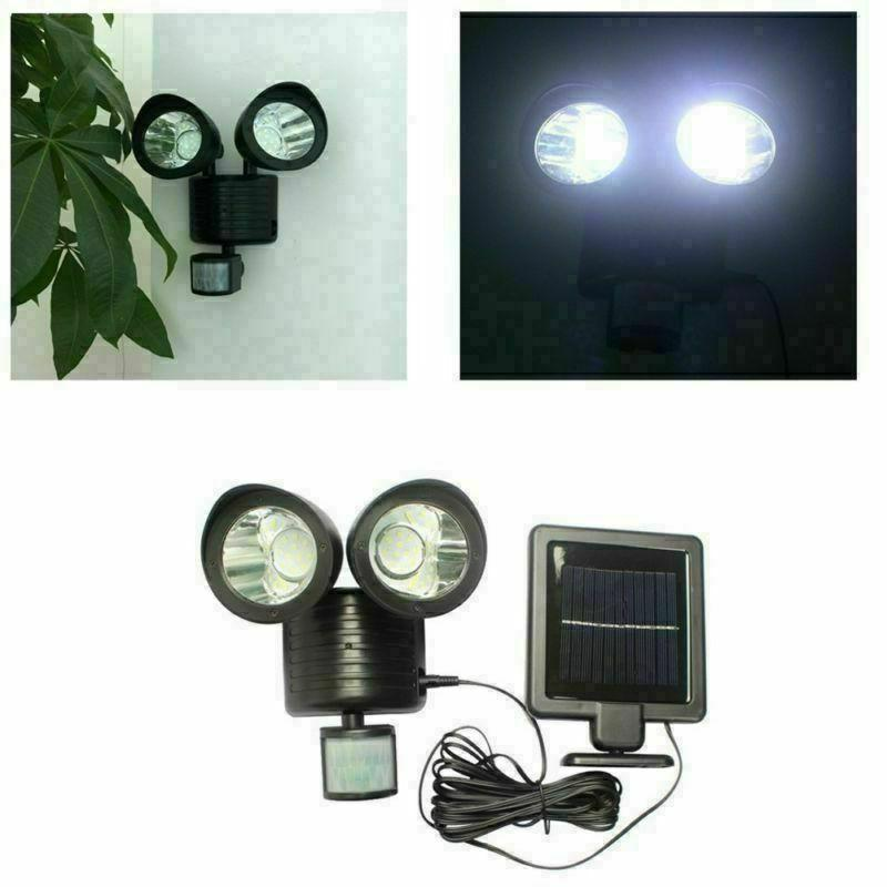 22LED Security Solar Spot Light Sensor Outdoor