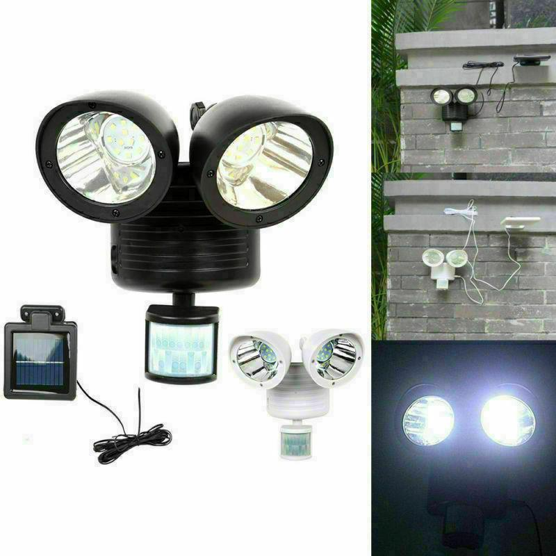 22led dual security detector solar spot light
