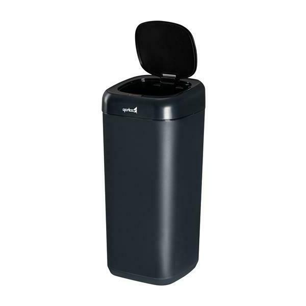 US 35L Smart Motion Sensor Automatic Trash Can Waste Bin Bl/