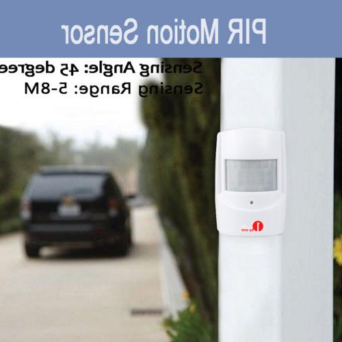 Wireless Motion Detector Entry Chime