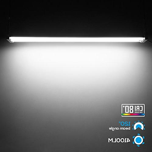 4ft Linkable LED Motion Utility LED Energy & ETL Listed,5000K Daylight, for