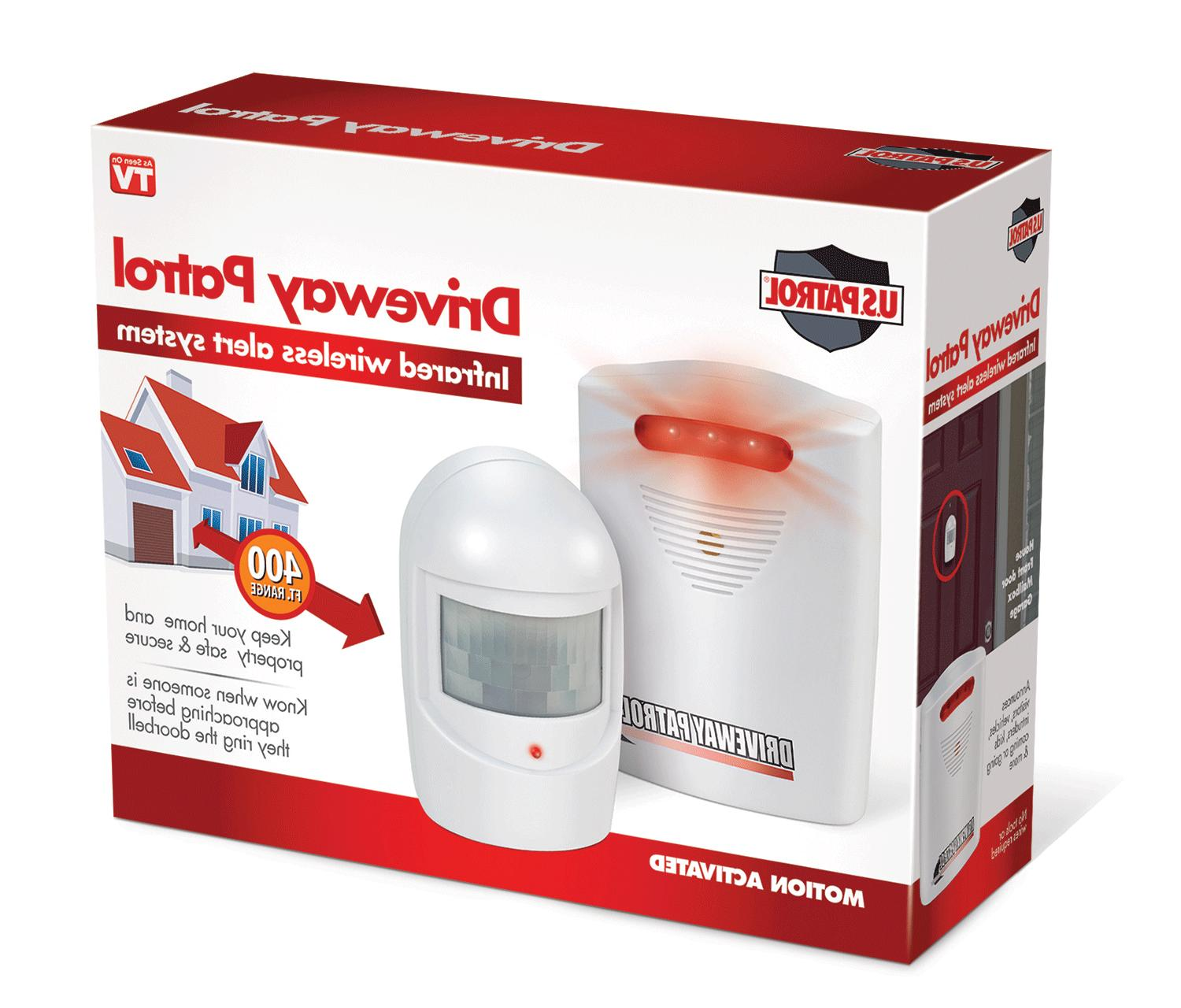 Driveway Patrol Garage Motion Sensor Alarm Infrared Wireless
