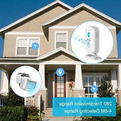 Home Security Driveway Govee Wireless Alarm 1 Receiver