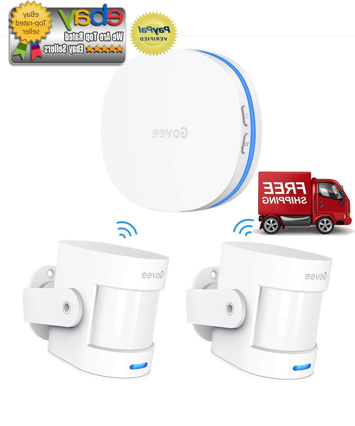 Home Security Driveway Alarm, Govee Wireless Motion Detector
