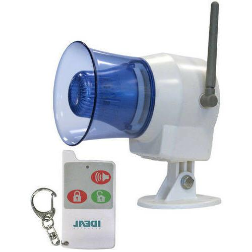 Ideal Security Inc. SK626 SK6 Siren with Remote Button, 110dB Alarm