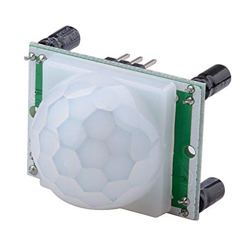 Qunqi HC-SR501 Pyroelectric Infrared Motion Sensor Modules for Microcontrollers