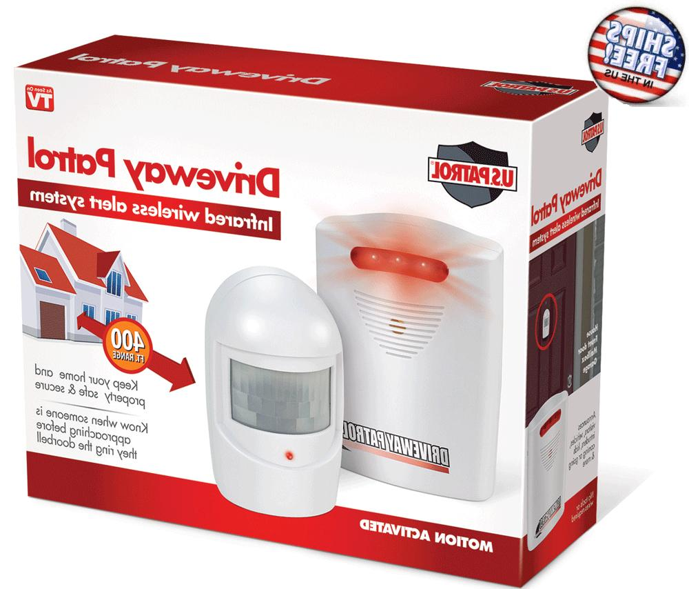 Trademark Commerce-Driveway Patrol Wireless Home Security Sys