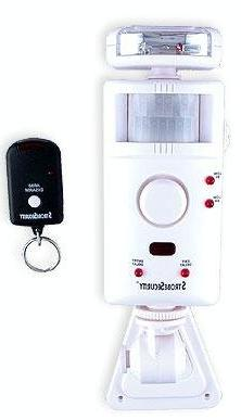 UniquExceptional MA795DC Strobe Motion Activated Alarm and D