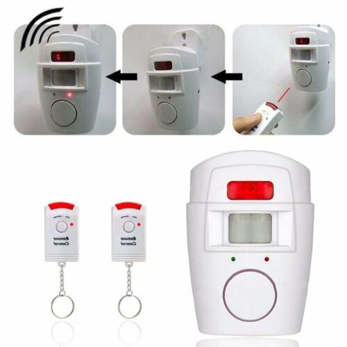Wireless Motion Security Wall Alert System