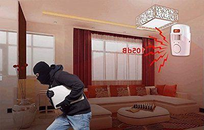 Wireless Motion Security Wall System