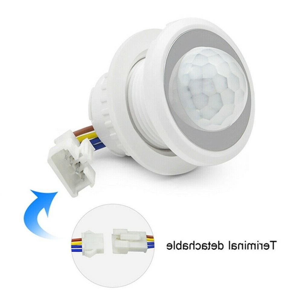 AC Motion Detector Control Switch Lamp