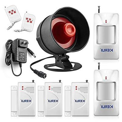 alarm system siren security remote wireless motion