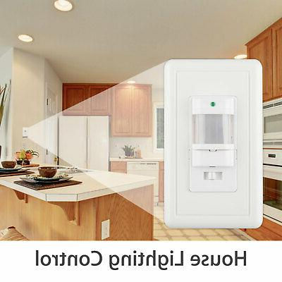 Auto On/Off Infrared Occupancy Wall Switch