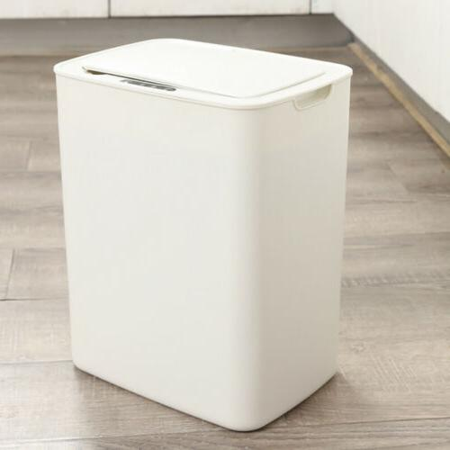 Automatic Touchless Infrared Motion Sensor Trash Can Dustbin