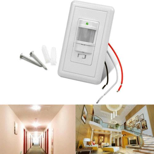 Body Switch Wall Mount LED Lamp Light Control