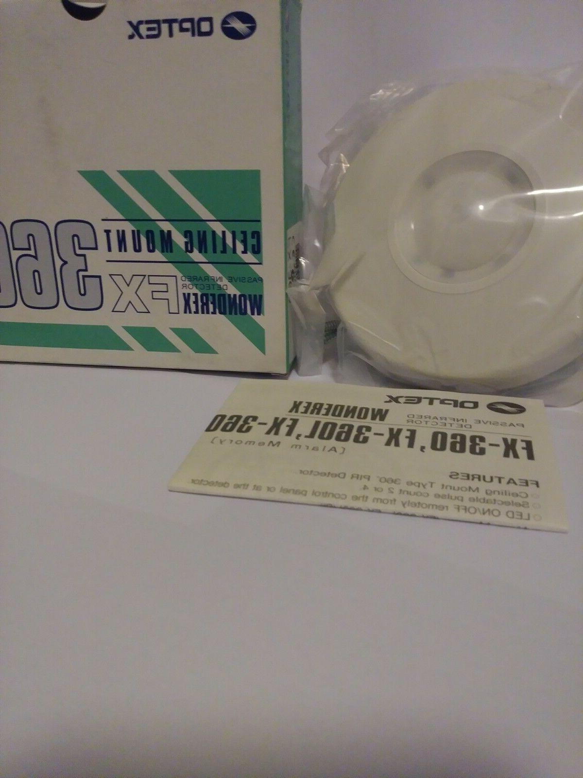 ceiling mount passive infrared motion detector fx360