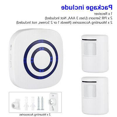 Wireless Motion Sensor Home Security Alarm System