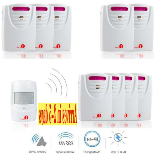 driveway alarm system car detector infrared motion