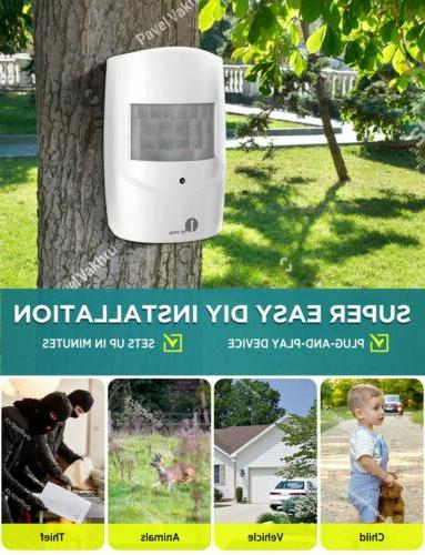 1byone Security Alarm Alert Motion Sensors
