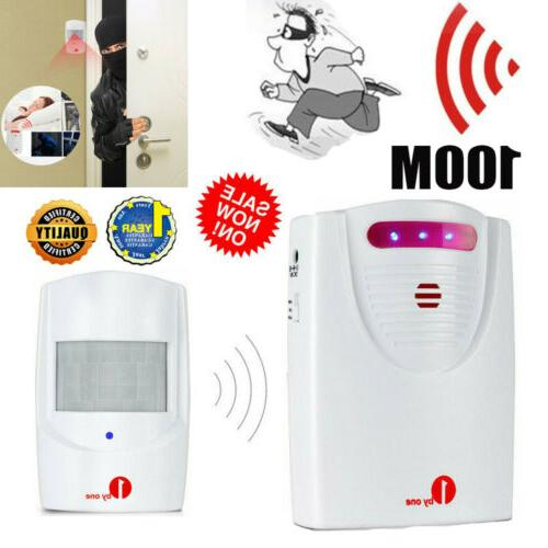 driveway patrol motion sensor alarm infrared wireless